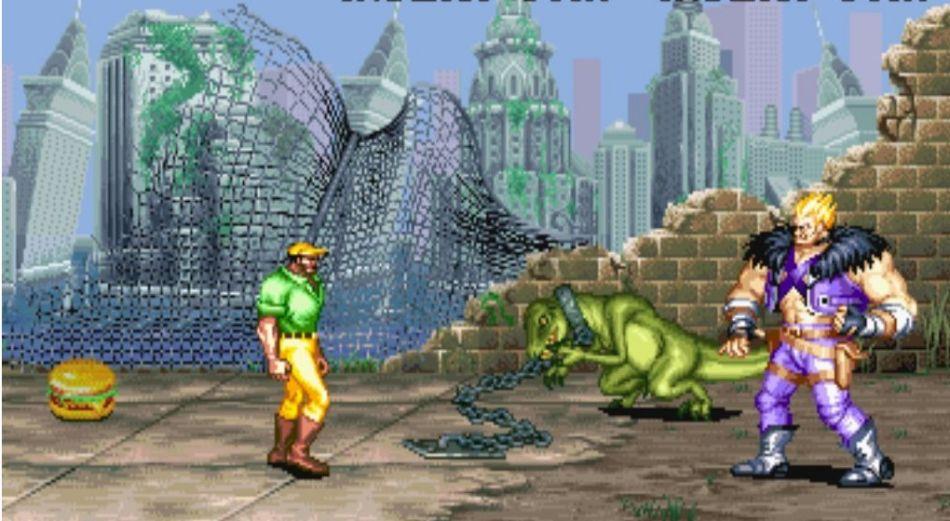 恐龙快打街机版