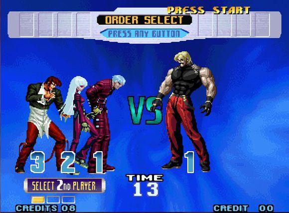 拳皇2002魔法加强版