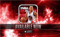 《NBA 2K16》五折促销 全明星MVP一手掌握