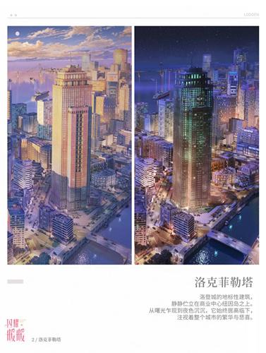 《闪耀暖暖》苹果联邦洛登城图文展示